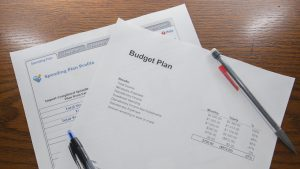 How to write a budget: Bottom Up