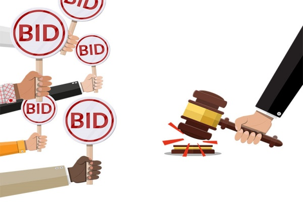 bid out jobs for property