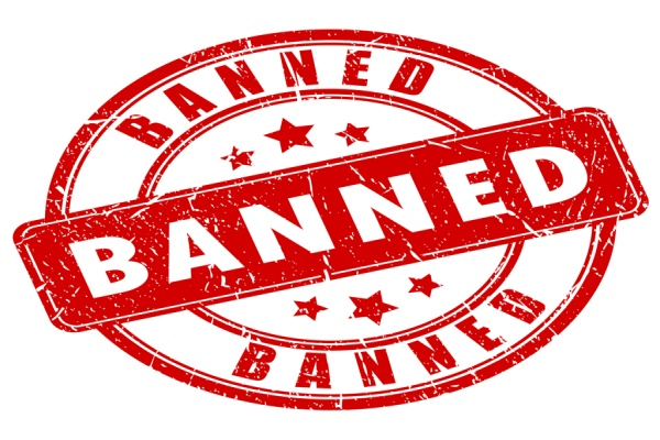 signs banned in property